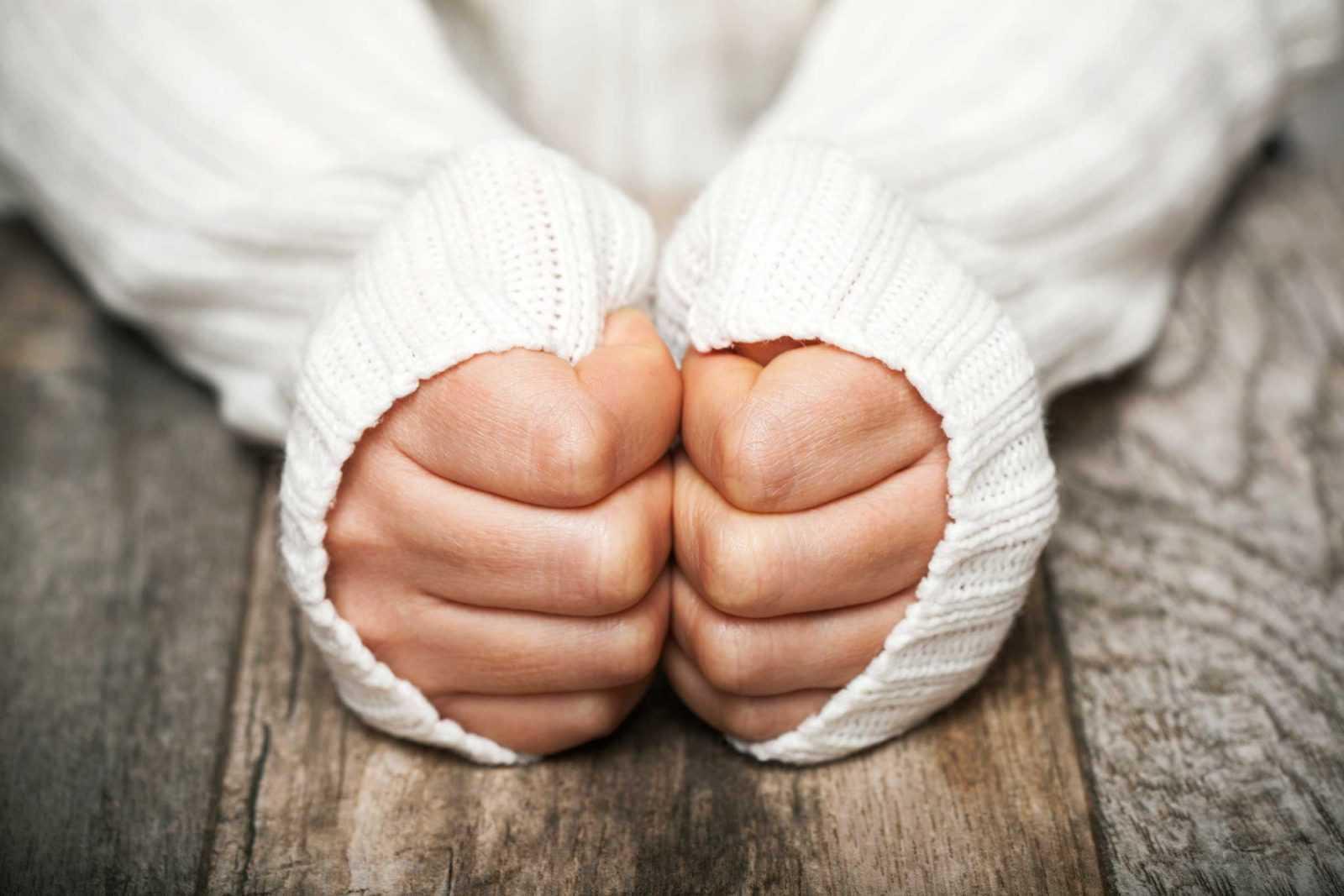 سردی دست و پا